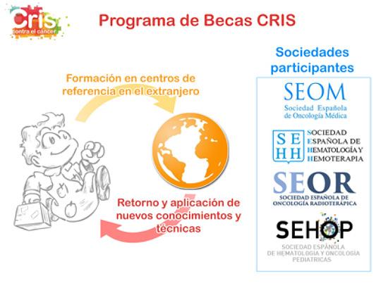 Programa de becas de Fundacion CRIS