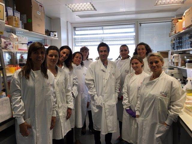 CRIS Team visit to The ICR, London