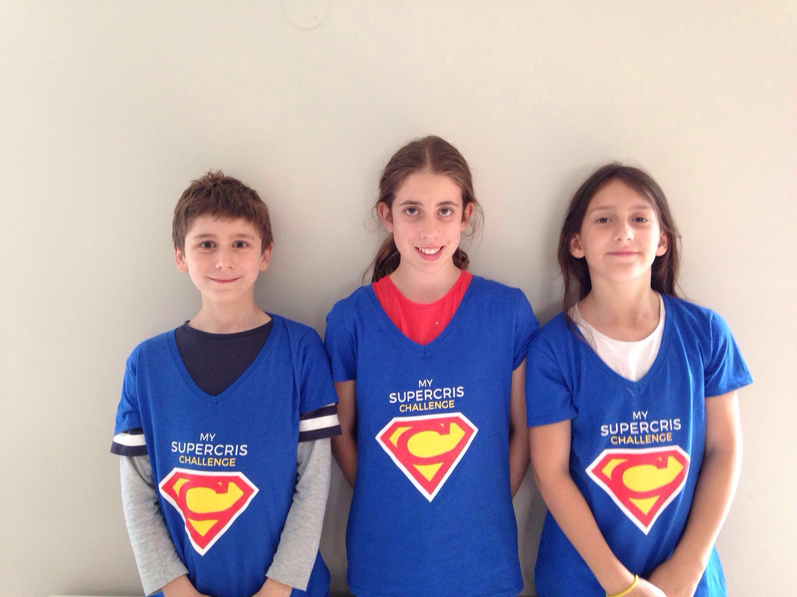 The kids band – My SuperCRIS Challenge
