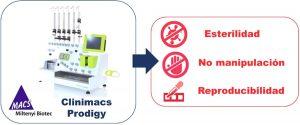 Unidad CRIS en cáncer infantil: clinimacs prodigy