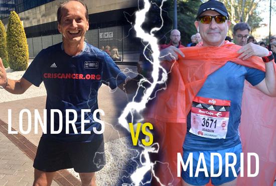 Runners solidario en Madrid y Londres por l Fundación CRIS