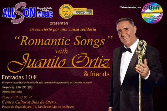 Romantic Songs, Concierto solidario en favor de CRIS contra el cáncer