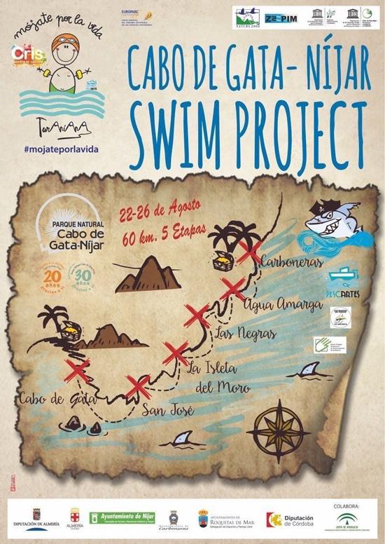 mojateporlavida_ swim project. Cabo de Gata - Nijar