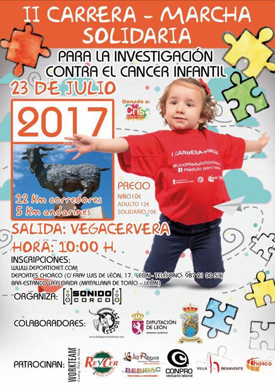 2ª Carrera-Marcha Solidaria para la lucha del cáncer infantil