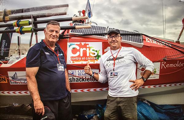 Un madrileño y un coruñés cruzan el Atlántico a favor del cáncer de próstata junto a CRIS Contra el Cáncer