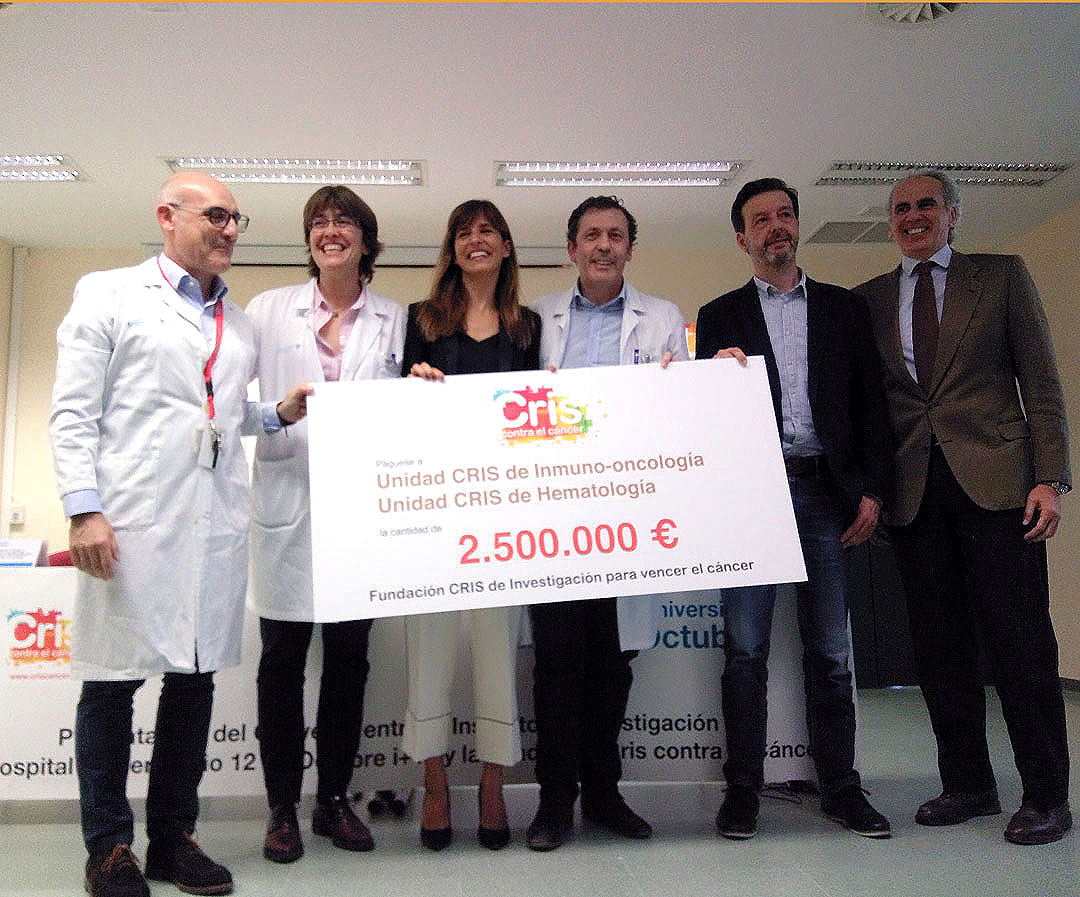CRIS finances the first Integrated Immuno-Oncology Unit at Hospital 12 de Octubre
