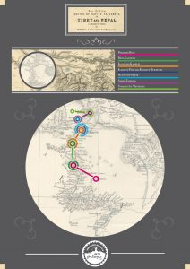Recorrido del Reto Pelayo Vida Annapurna Bike2018