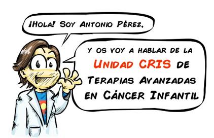 Doctor Antonio Perez. Unidad CRIS de terapias avanzadas en cáncer infantil de la Paz