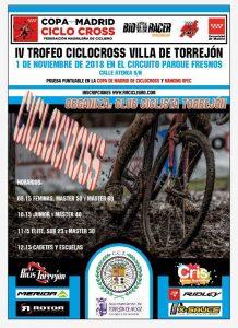 IV trofeo ciclocross villa de Torreon a beneficio de CRIS contra el cáncer
