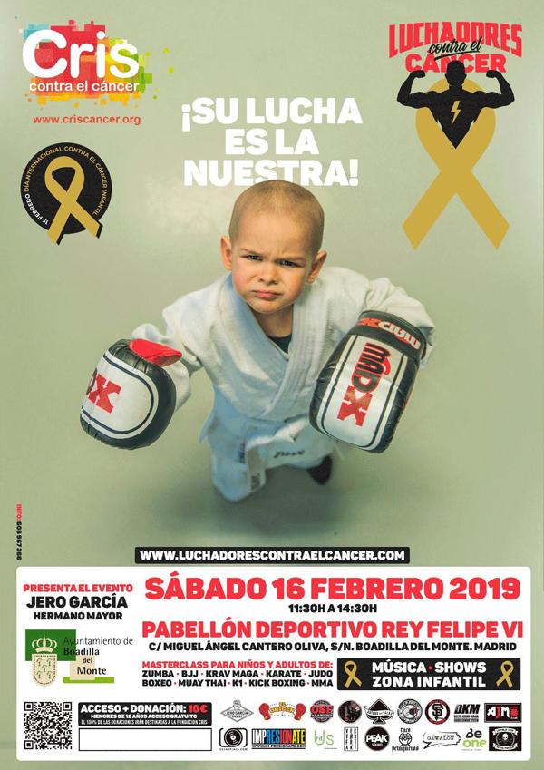 Luchadores contra el cáncer: poster