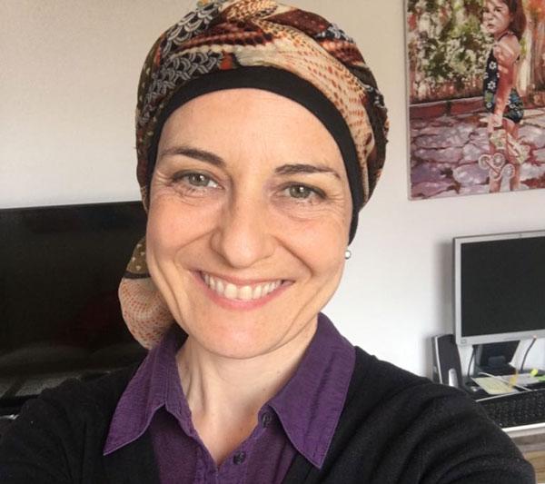 Ana, paciente de cáncer de mama