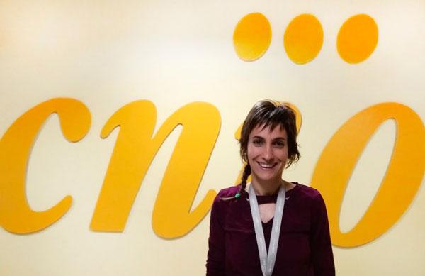 Lucia, investigadora de cancer en el CNIO