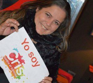 Eva Torres Taxista y apoya la lucha contra el cáncer