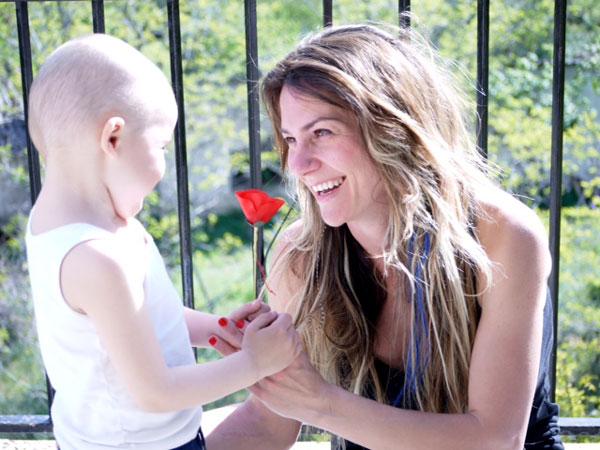 Marga, madre de Mario que ha superado un cancer