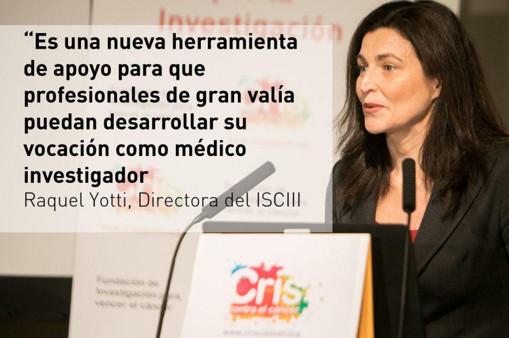 Programas de investigacion CRIS Raquel Yotti