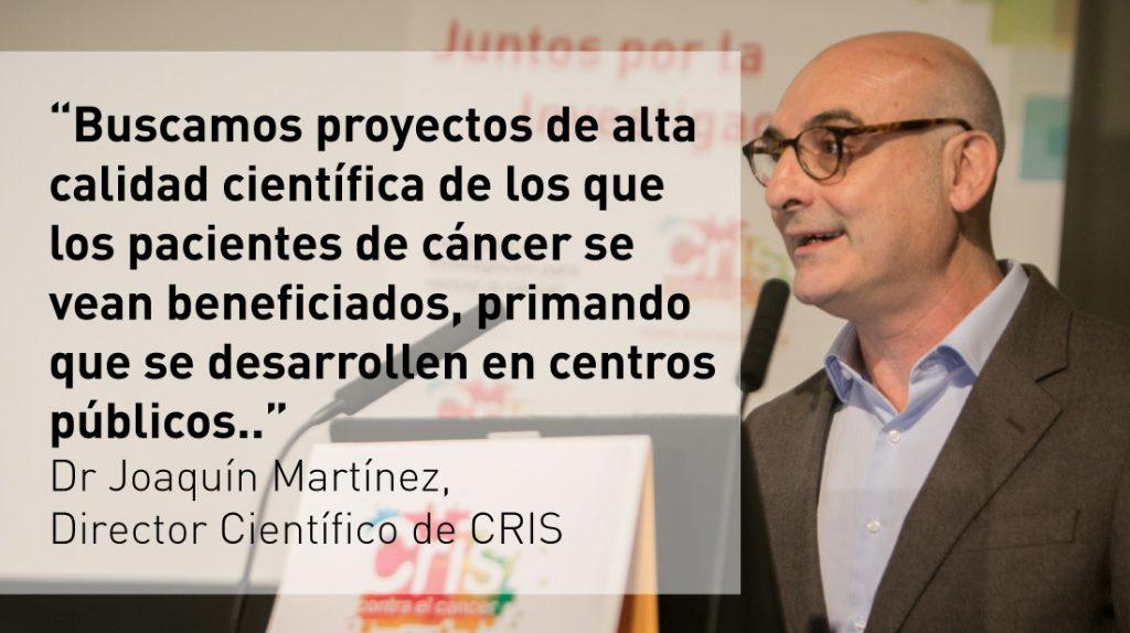 Programas de Investigacion CRIS Dr. Joaquin Martinez