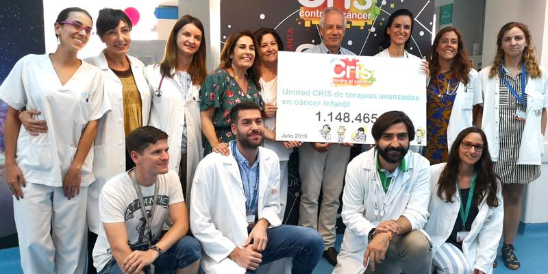 CRIS apuesta por la investigacion del cáncer infantil