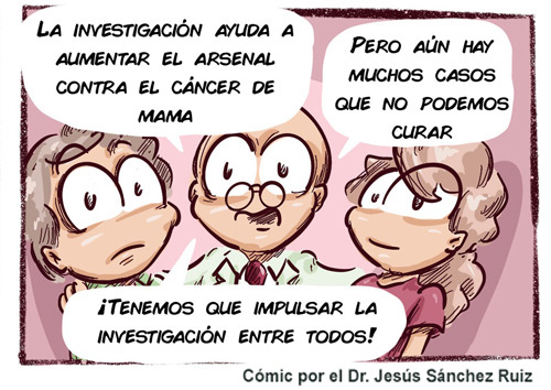 comic ¿Cómo se trata el cáncer de mama?