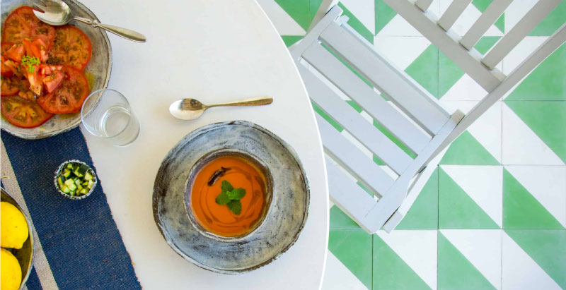 Un verano oncosaludable: gazpacho